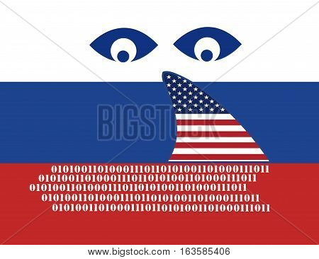 USA spying on Russia. American espionage on Russian computer networks