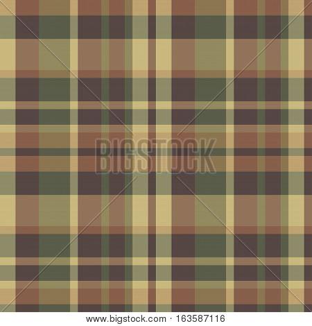 Tartan vector seamless pattern. Scottish classic pattern.