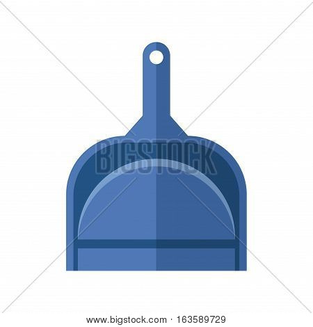 Cleaning housework wash tool squeegee flat vector illustration