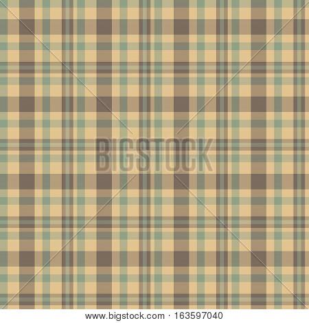 Tartan vector seamless pattern. Scottish decoration pattern.