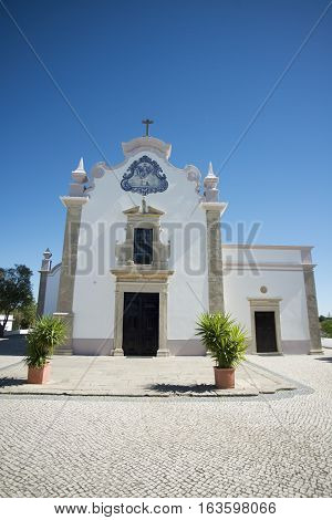 Europe Portugal Algarve Almancil Church
