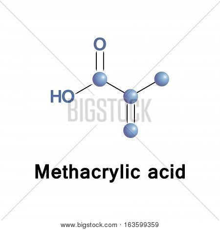 Methacrylic acid is produced industrially as a precursor to its esters, methyl methacrylate and polymethyl methacrylate. The methacrylates use in the manufacture of polymers.