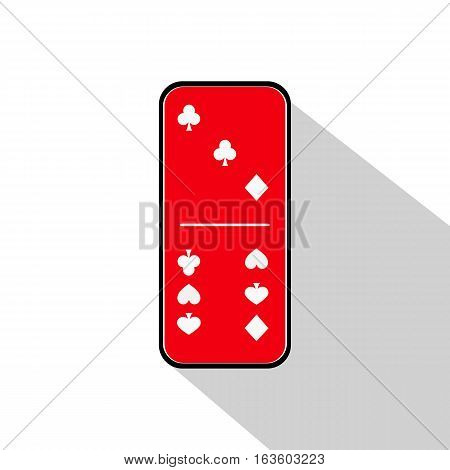 Domino Icon Illustration Assorted Three To Six