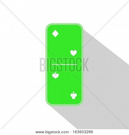 Domino Icon Illustration Assorted Two-