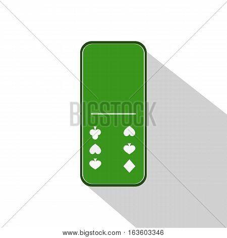 Domino Icon Illustration Assorted Zero - Six