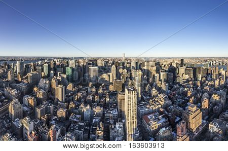 Spectacular Skyline View Of New York