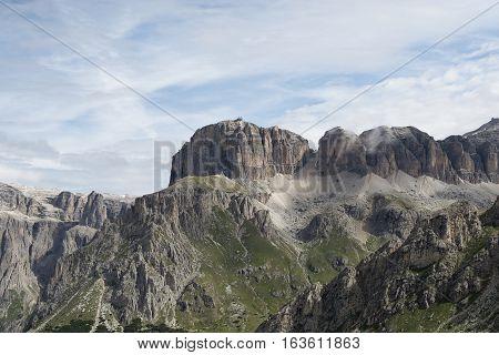 Sass Pordoi - Gruppo Sella - Dolomiti - Trentino - Italy