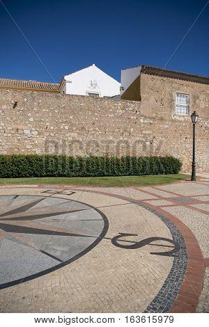 Europe Portugal Algarve Faro City Wall