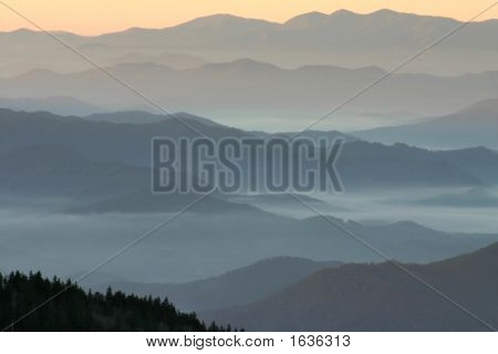 Mountain Layers- Highest Point In Tennessee