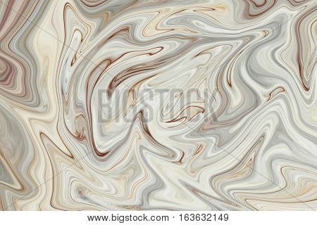 Marble ink colorful. brown marble pattern texture abstract background. can be used for background or wallpaper