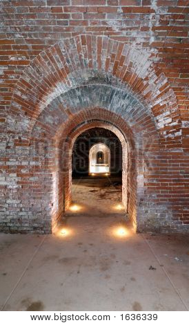 Tunnel In Fort