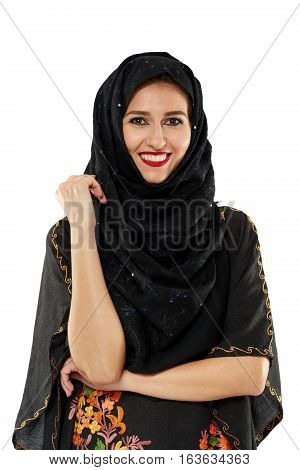 Beautiful Woman In Oriental Outfit