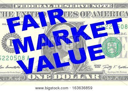 Fair Market Value - Financial Concept