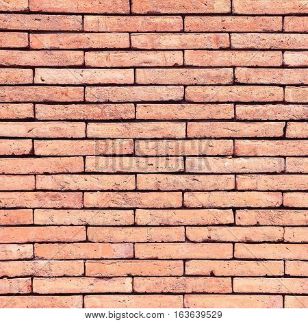 Brick wall texture or brick wall background for interior or exterior design with copy space for text or image.