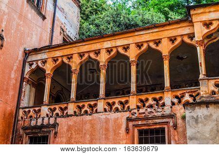 Hdr Castello Del Roccolo In Caraglio