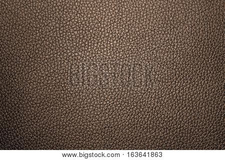 Brown leather texture or leather background for design with copy space for text or image.