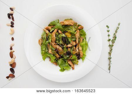 Food Salad Side Dish Organic Healthy Cuisine Snack Concept