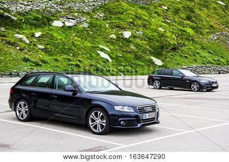 Audi A4 Avant And Bmw F11 5-series Touring
