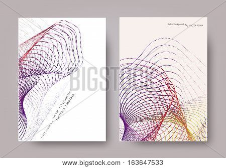 Set Geometric Abstract Background Universal Template Line-042.eps
