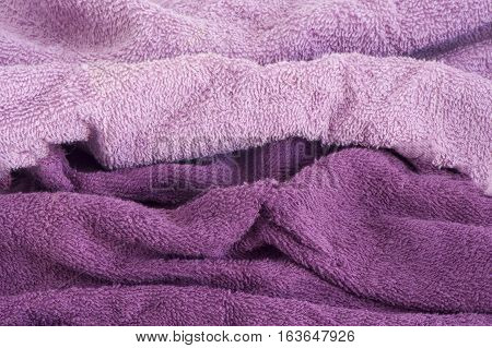 dual color background sponge in shades of purple