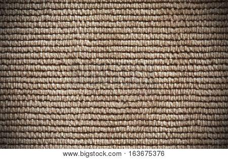 Beige Denim Texture Close Up Horizontal Direction Of Threads