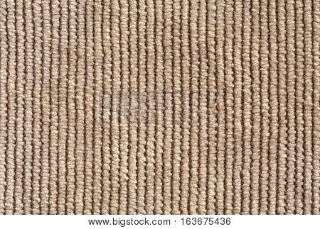 Beige Denim Texture Close Up Vertical Direction Of Threads