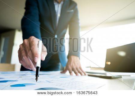 Business Concept Idea Background.