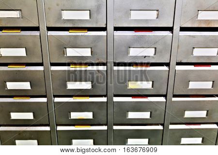 Metal Filing Boxes For Spare Parts