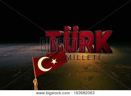 Turkey and Turkish Flag, Turkish Flag Design Study