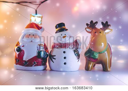 Santa Claus Decor For Merry Christmas