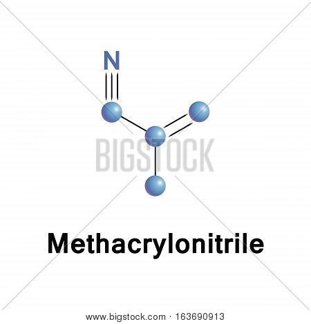Methacrylonitrile is used in the preparation of homopolymers, copolymers, elastomers, and plastics, as a chemical intermediate in the preparation of acids, amides, amines, esters, and other nitriles.