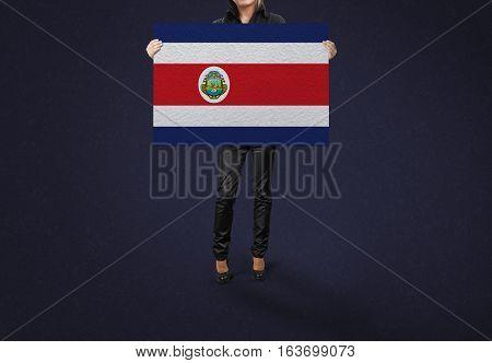 COSTA RICA Flag Design and Presentation, COSTA RICA Flag