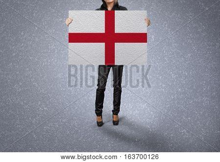 ENGLAND Flag Design and Presentation, ENGLAND Flag