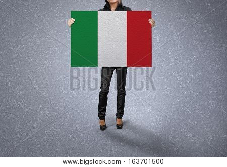 ITALY Flag Design and Presentation, ITALY Flag