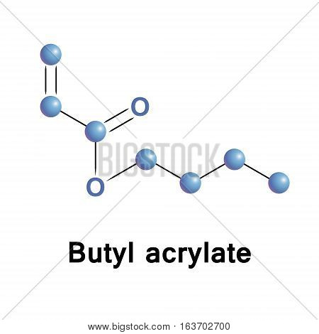Butyl acrylate is used in paints, sealants, coatings, adhesives, fuel, textiles, plastics, and caulk.