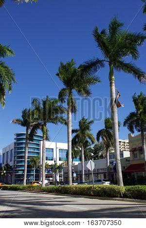 building on washington avenue, south beach, miami