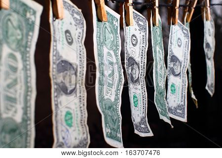 Money laundering - money market - bribery, corruption - economic crisis