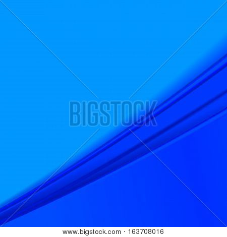 Blue abstract background . Vector illustration .