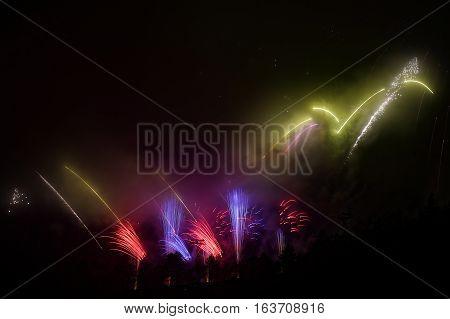 Beautiful Big Fireworks
