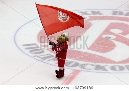 Mascot Of Vityaz Team Svyatogor