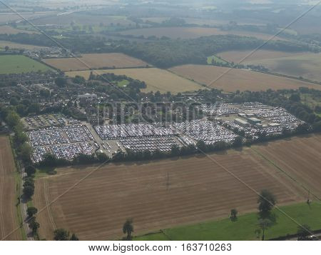 Parking Lot In Luton