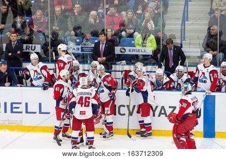 Lokomotiv Team On Timeout