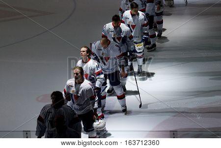 Slovan Team On Ice