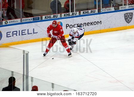 R. Stoa (94) And T. Kopecky (82) In Action