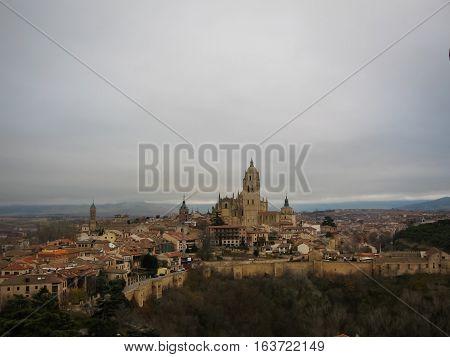Cathedral Of Segovia, Castilla Y Leon, Spain
