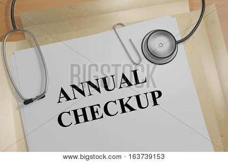 Annual Checkup - Medical Concept