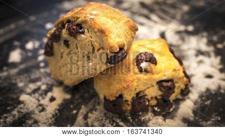 The delicious Danish cookies. Shot in Denmark