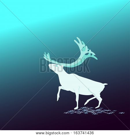 And The Background. Deer North, Fabulous deer