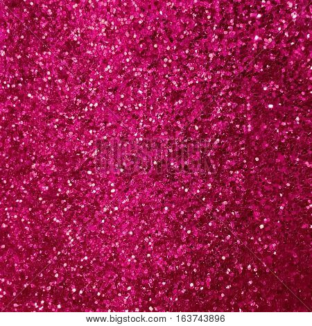 Shiny pink glitter abstract texture background for design