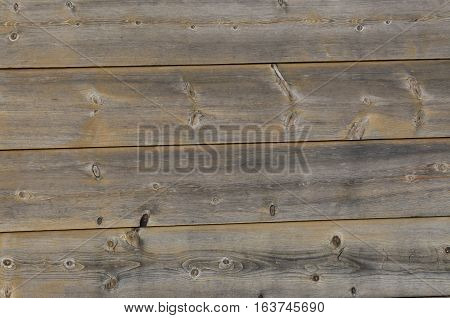 Extreme close up of wall composed of wooden planks